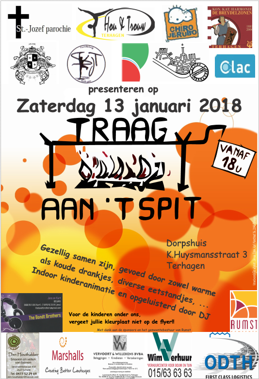Affiche Traag aan 't Spit